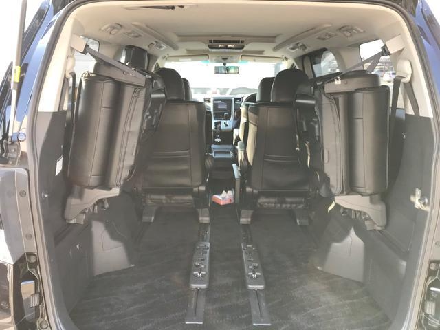 トヨタ ヴェルファイア 2.4Z サンルーフ 7人乗り 両側パワースライドドア
