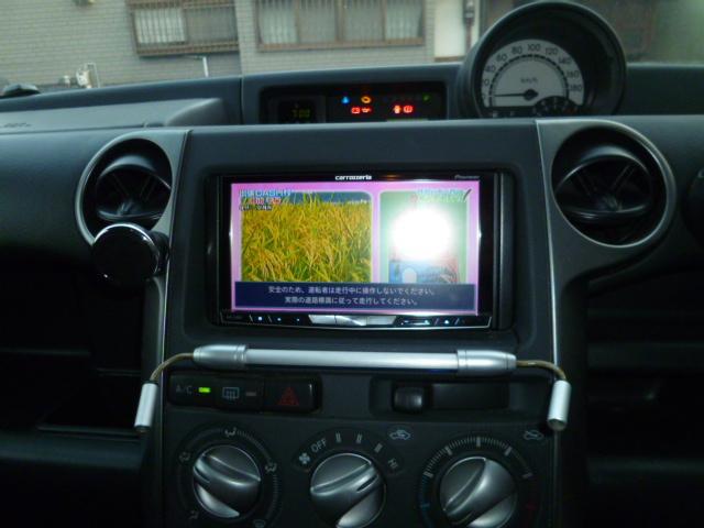 トヨタ bB Z Xバージョン 女性ワンオーナー車 フルセグナビ TV