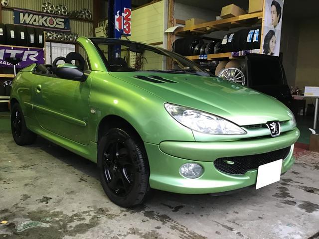 「プジョー」「プジョー 206」「オープンカー」「福岡県」の中古車3