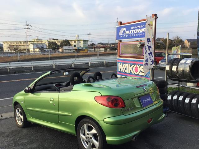「プジョー」「プジョー 206」「オープンカー」「福岡県」の中古車8