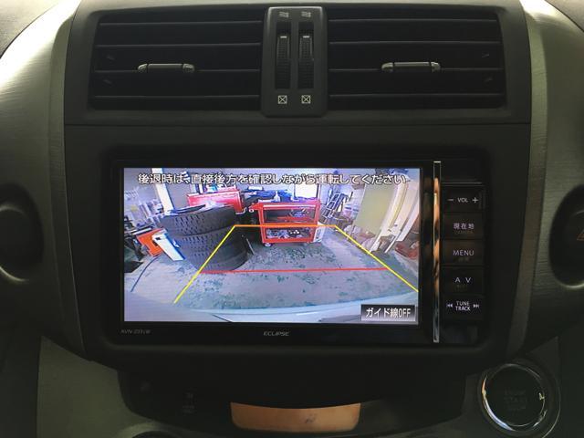 トヨタ RAV4 スタイル メモリーナビ フルセグ Bカメラ DVD・CD