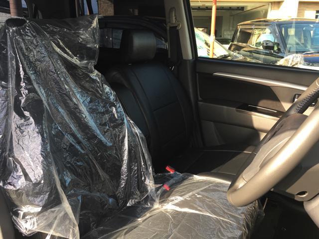 スズキ ワゴンRスティングレー リミテッドII メモリーナビ フルセグ 新品革調シートカバー