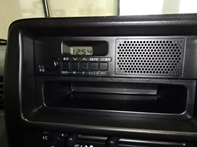 FM/AM切替ラジオで運転中は交通状況をチェック!!
