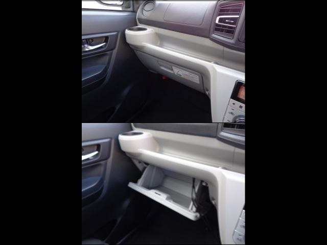 グローブボックス容量はしっかりとあり車検証以外にもお好きなCDなどいれてみてはいかがでしょうか?