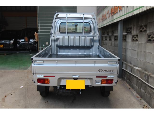 ダイハツ ハイゼットトラック ハイルーフ 4WD 新車未登録車 エアコン パワステ