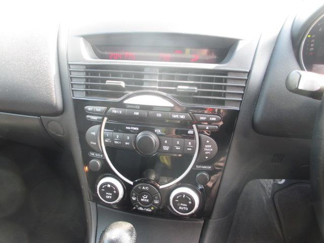 マツダ RX-8 ベースグレード HIDライト CD キーレス