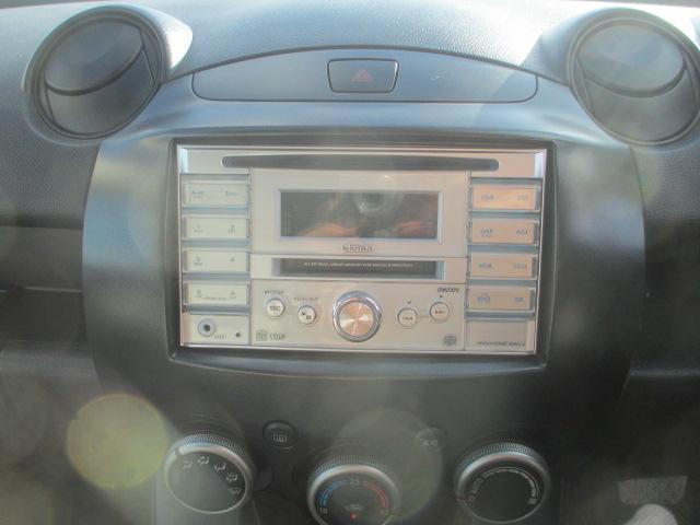 マツダ デミオ 13C-V 2年保証 CD キーレス