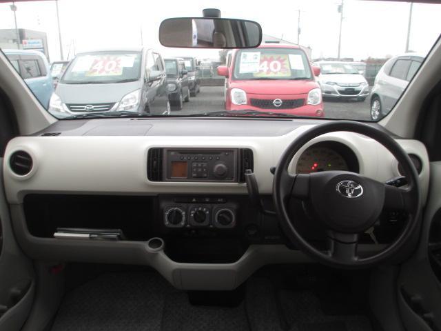 トヨタ パッソ X 2年保証 CD キーレス