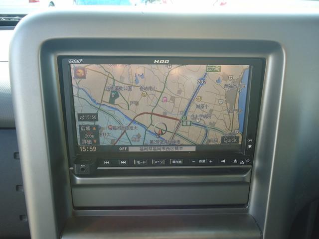 日産 キューブ 15M プラスナビHDD ナビ 1セグTV ベンチシート