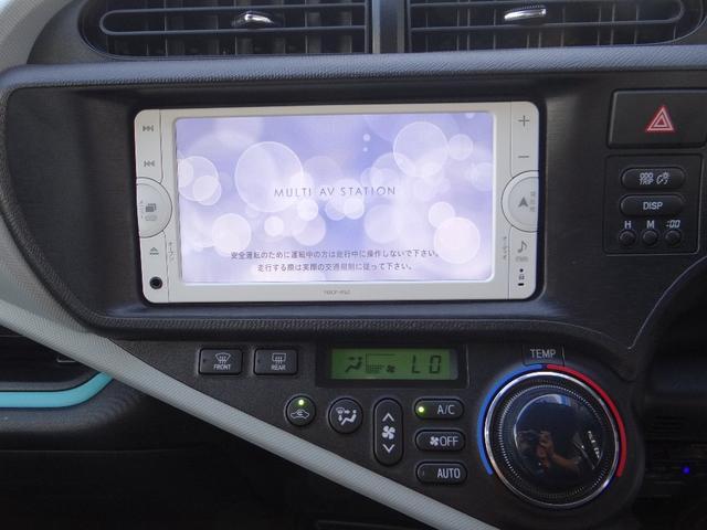 トヨタ アクア S SDナビ ワンセグTV HVBチェック済