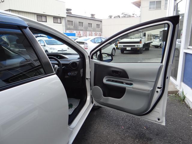 トヨタ アクア S スマートキー ETC 社外オーディオ