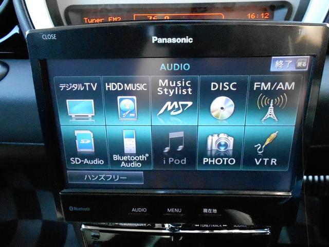 パナソニックの高級HDDナビ付きです!地デジ・DVD再生・ブルートゥースオーディオ付きです!