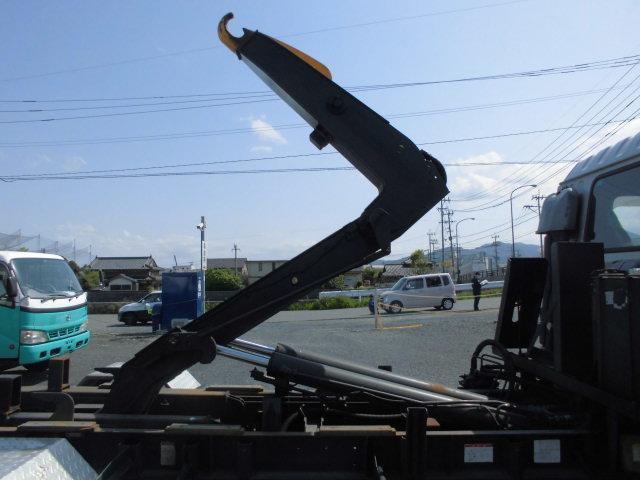 いすゞ フォワード 4Tアームロール フックロール 脱着コンテナ車 2本シリンダ