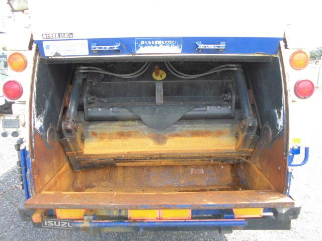 4T パッカー車 塵芥車 10立米 プレス式 計量機付(5枚目)