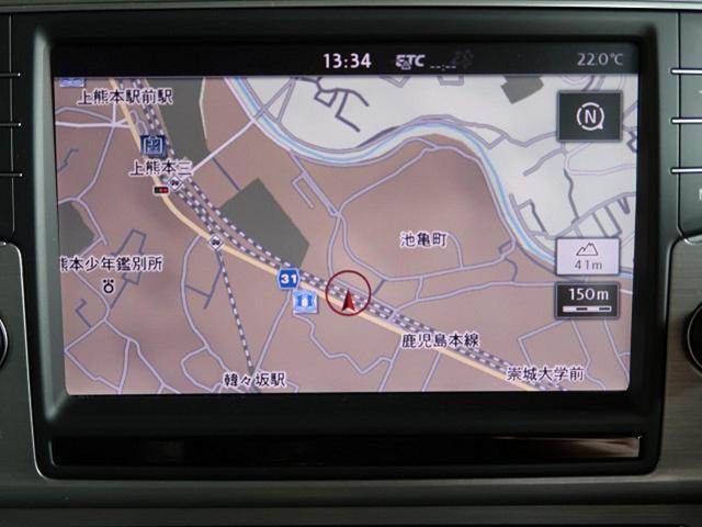 TSIコンフォートラインプレミアムエディション 純正ナビ(4枚目)