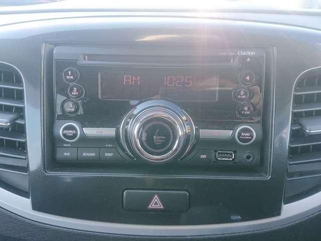 CD/ラジオ/USBオーディオが標準装備です☆