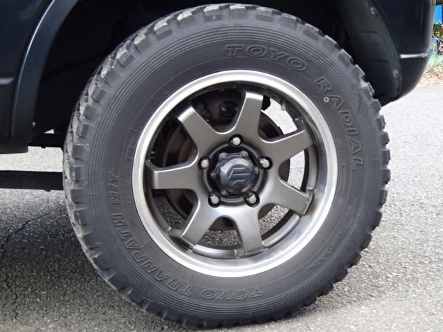 ワイルドウインド リフトアップ MTタイヤ キーレス 4WD(7枚目)
