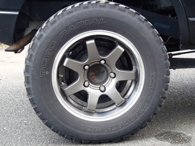 ワイルドウインド リフトアップ MTタイヤ キーレス 4WD(8枚目)