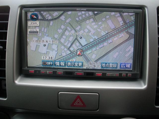 スズキ MRワゴン ウィット TSターボ 社外HDDナビ