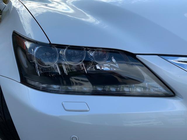 レクサス GS GS450h I-PKG 黒革 SR マルチ 3眼ライト