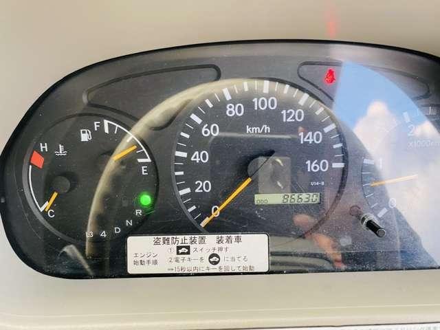 セミロング 4.0 フルジャストロー ディーゼルターボ 2tユニック オートマ車 3段クレーン(17枚目)