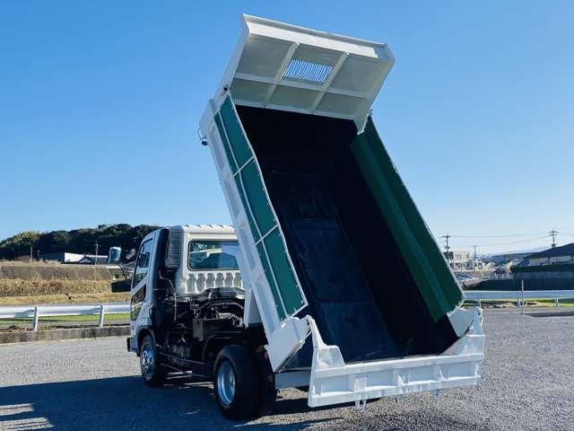 ダンプ 4トンダンプ ターボ車 外装仕上 コボレーン付 坂道発進補助 ETC エアコン パワステ パワーウィンドウ ABS(4枚目)