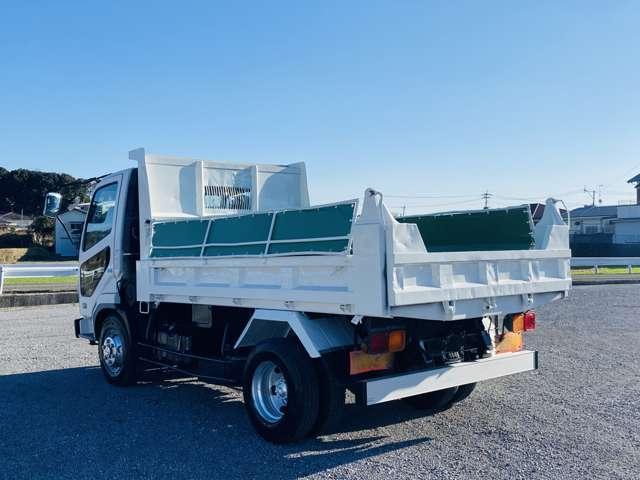 ダンプ 4トンダンプ ターボ車 外装仕上 コボレーン付 坂道発進補助 ETC エアコン パワステ パワーウィンドウ ABS(10枚目)
