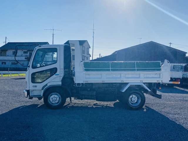 ダンプ 4トンダンプ ターボ車 外装仕上 コボレーン付 坂道発進補助 ETC エアコン パワステ パワーウィンドウ ABS(11枚目)