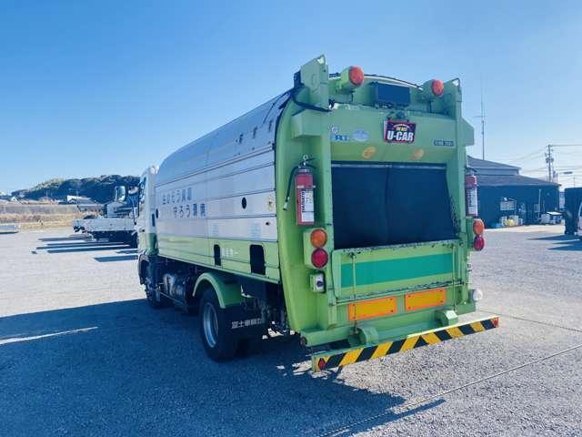 4tパッカー車 7.5立米 ロータリー式 4トン 塵芥車 ターボ車 坂道発進補助(11枚目)