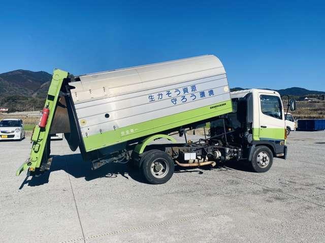 4tパッカー車 7.5立米 ロータリー式 4トン 塵芥車 ターボ車 坂道発進補助(14枚目)