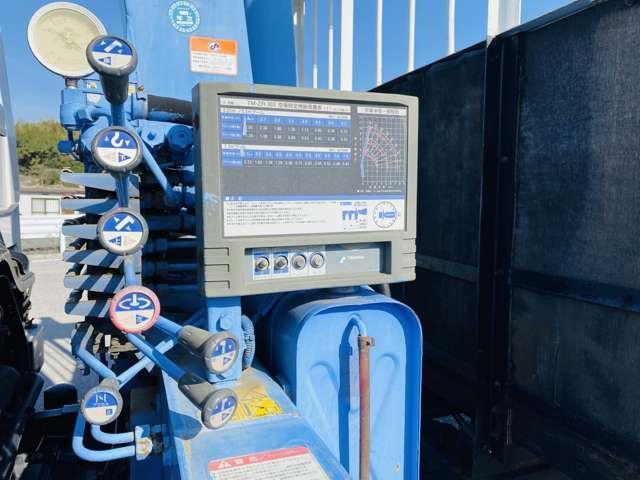4トンユニック 3段クレーン ラジコン付 ターボ車 鉄板張 4tクレーン セミロング(12枚目)