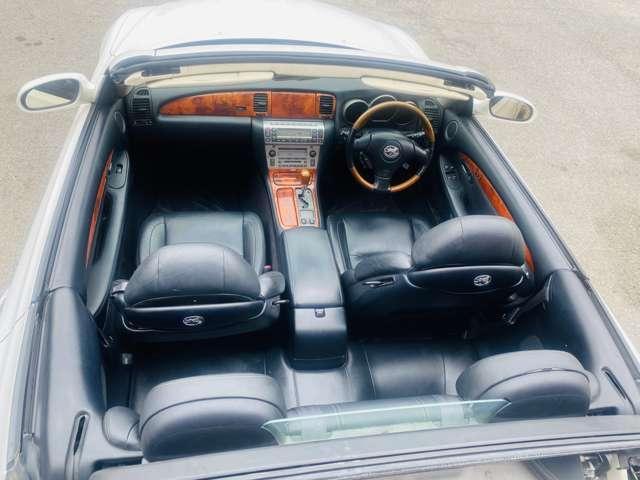430SCV 430SCV 黒本革シート シートヒーター メモリーシート クルコン(20枚目)
