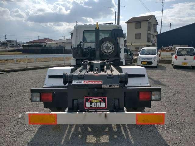 4tアームロール Wシリンダー 新品箱付 新明和製 ターボ車 4トン フックロール(7枚目)