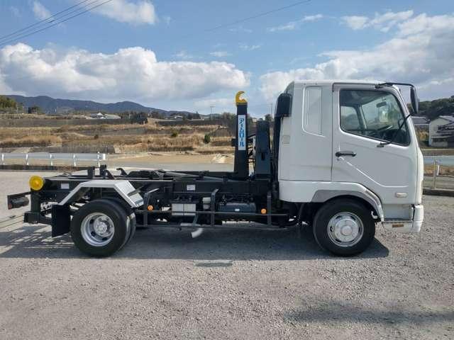 4tアームロール Wシリンダー 新品箱付 新明和製 ターボ車 4トン フックロール(14枚目)