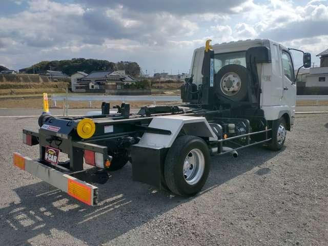 4tアームロール Wシリンダー 新品箱付 新明和製 ターボ車 4トン フックロール(15枚目)
