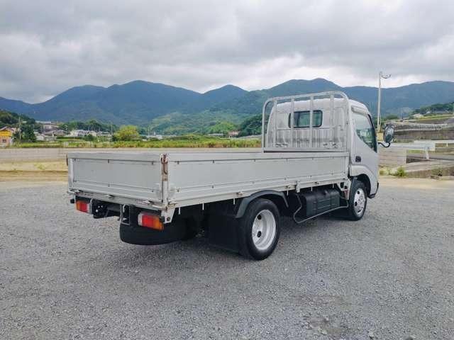 2t平ボディ セミロング 全低床 ターボ車 ETC 同色バンパー 2トンヒラ(9枚目)