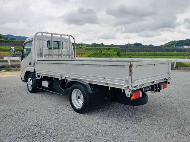 2t平ボディ セミロング 全低床 ターボ車 ETC 同色バンパー 2トンヒラ(11枚目)