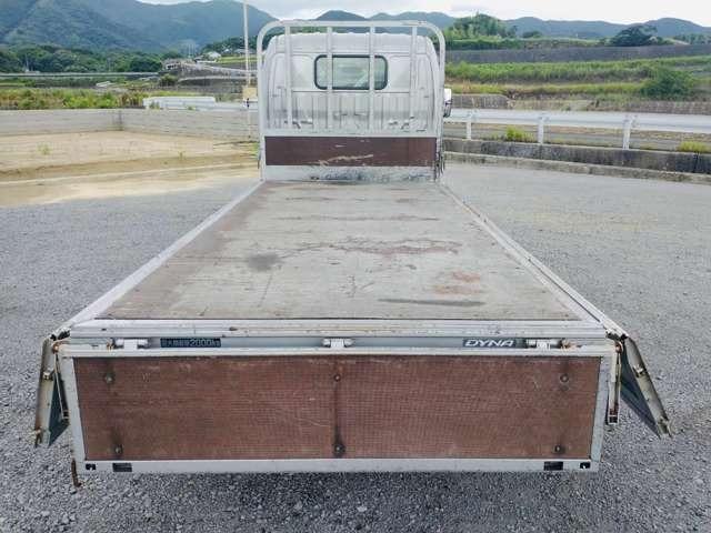 2t平ボディ セミロング 全低床 ターボ車 ETC 同色バンパー 2トンヒラ(15枚目)