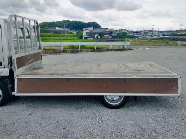 2t平ボディ セミロング 全低床 ターボ車 ETC 同色バンパー 2トンヒラ(16枚目)