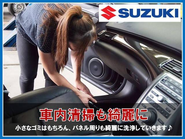 中古車で特に目立つのが車内の前オーナーの使用感です。当店ではその使用感を払拭する為に掃除機かけはもちろん、パネル周りも一つ一つ綺麗に磨いていきます。時には消臭を行い車内空間を新しく生まれ変わらせます♪