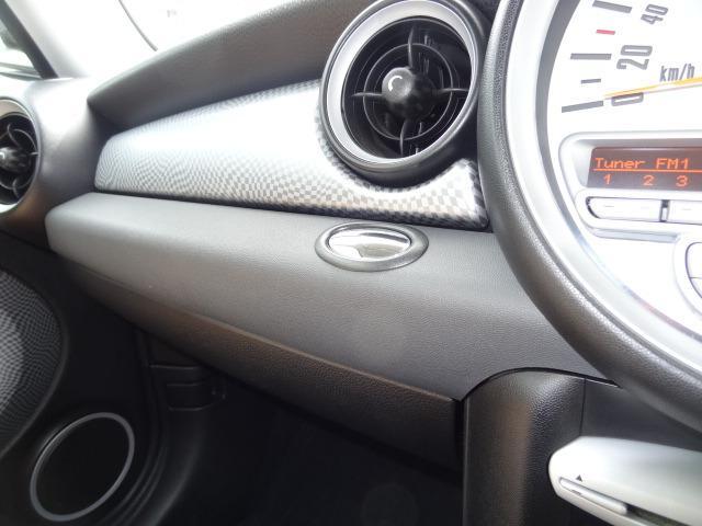 クーパーS HIDヘッドライト 記録簿 ディーラー車 キーレス(21枚目)
