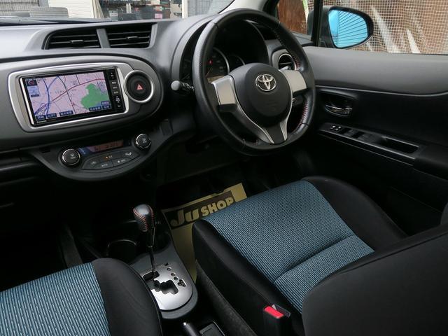 トヨタ ヴィッツ RS1オ-ナ-地デジナビスマ-トキ-純正エアロ