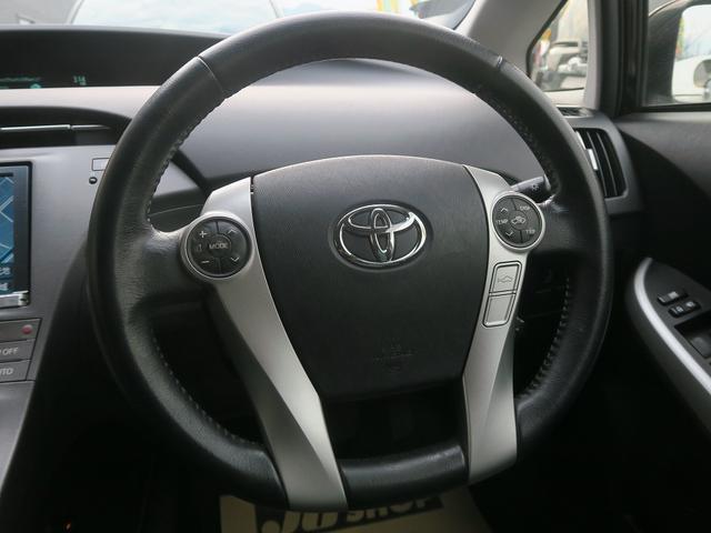 トヨタ プリウス 2年保証付 後期GツーリングレザーPKGモデリスタ黒革地デジ