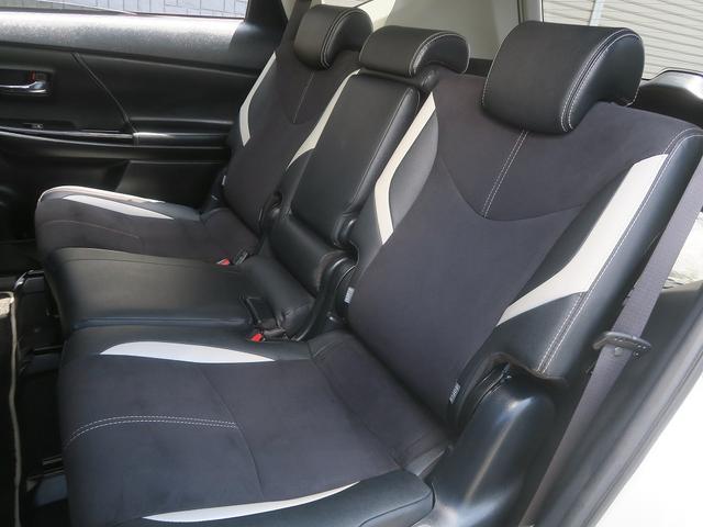 トヨタ プリウスアルファ 2年保証後期G's1オーナー地デジ黒ハーフレザーS専用エアロ