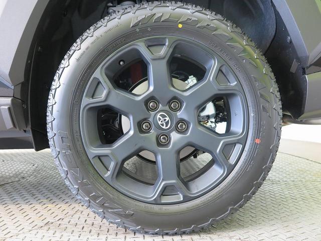 アドベンチャー オフロードパッケージ 登録済み未使用車 純正ディスプレイオーディオ バックカメラ 純正専用18インチアルミホイール 専用サスペンション ルーフレール LEDヘッド セーフティセンス 4WD(27枚目)