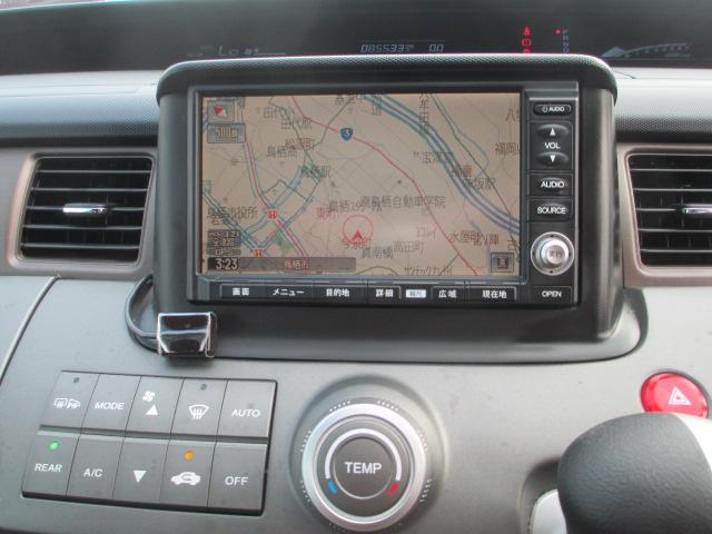 ホンダ ステップワゴン HDDナビ エアロ セレクト 2年保証 純正HDDナビ