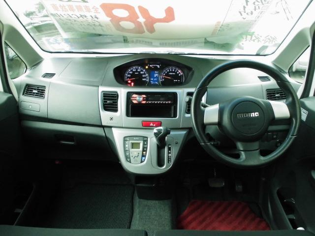 カスタム RS ターボ 社外CDデッキ HIDヘッドライト フォグランプ 電動格納ドアミラー ベンチシート アイドリングストップ 本革巻きハンドル プッシュスタート(4枚目)