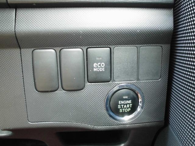 カスタム RS ターボ 社外CDデッキ HIDヘッドライト フォグランプ 電動格納ドアミラー ベンチシート アイドリングストップ 本革巻きハンドル プッシュスタート(8枚目)