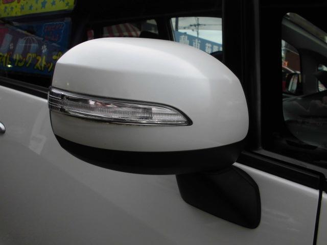 カスタム RS ターボ 社外CDデッキ HIDヘッドライト フォグランプ 電動格納ドアミラー ベンチシート アイドリングストップ 本革巻きハンドル プッシュスタート(12枚目)
