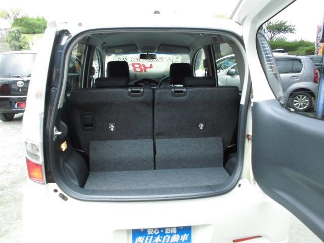 カスタム RS ターボ 社外CDデッキ HIDヘッドライト フォグランプ 電動格納ドアミラー ベンチシート アイドリングストップ 本革巻きハンドル プッシュスタート(17枚目)